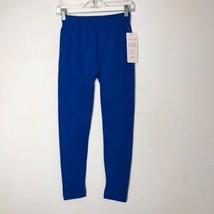 Homma women's NWT blue fleece stretchy leggings